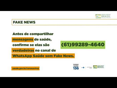 Coronavírus - Fake News